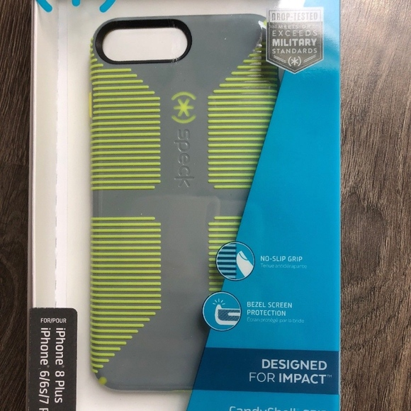 new arrival 30584 554e0 Speck iPhone 8 7 6 6s Plus Case CandyShell Grip NWT